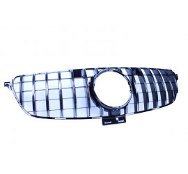 FRONT GRILL COMPATIBLE WITH MERCEDES-BENZ GLE W166 CHROME