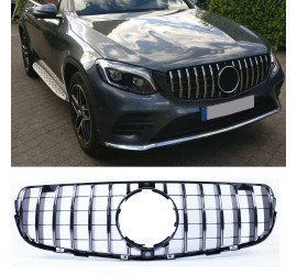 GRILL COMPATIBEL MET MERCEDES-BENZ GLC - GLC COUPE CHROME