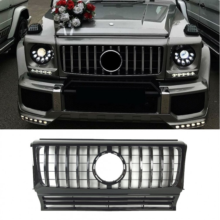 GRILL COMPATIBLE WITH MERCEDES-BENZ G CLASS W463 CHROME