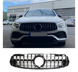 GRILL COMPATIBEL MET MERCEDES-BENZ FACELIFT GLC - GLC COUPE CHROME 2020+